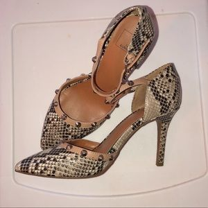 14th & Union Shoes - Snake print heels